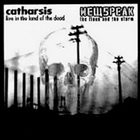 CATHARSIS [NORTH CAROLINA] Live In The Land Of The Dead / The Flood And The Storm album cover